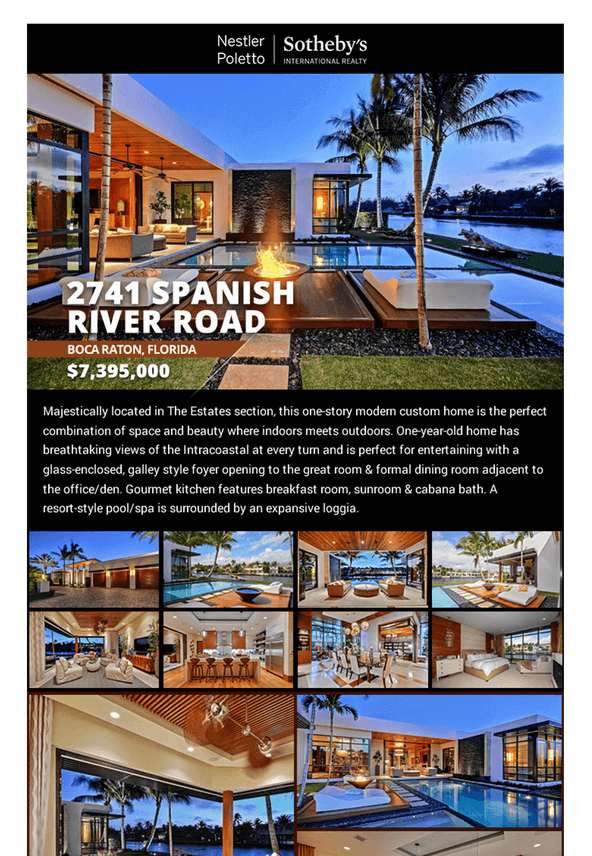 Real Estate Email Flyers And Marketing Flyer Product Tour - Email brochure template