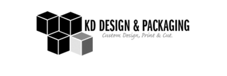 KD Packaging Design Logo