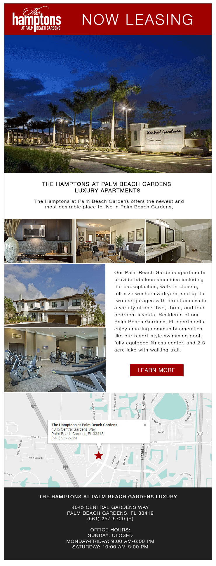 The Hamptons at Palm Beach Gardens Apartments